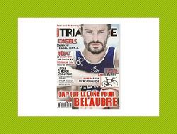 Couverture Triathlète Magazine décembre 2014